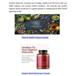 Online Organic Health Products Canada